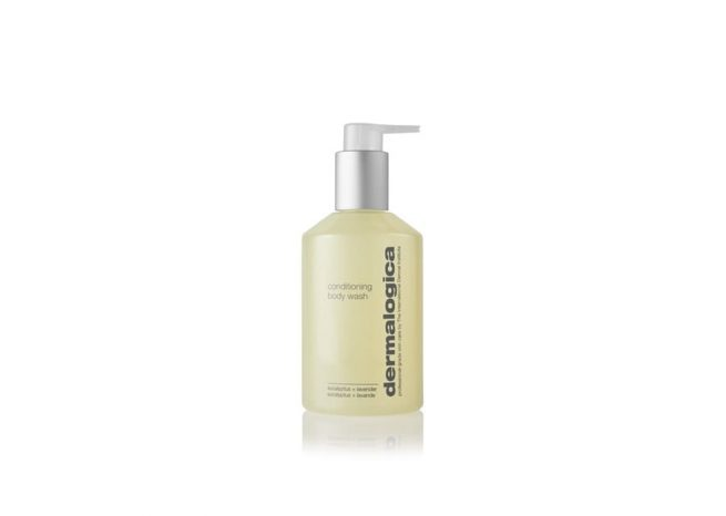 Photo showing the packaging of conditioning body wash by Dermalogica