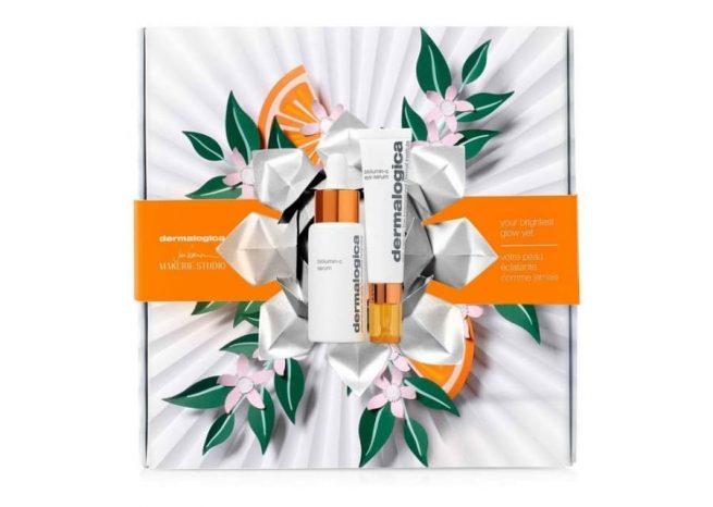 Photo showing the packaging of your brightest glow yet by Dermalogica